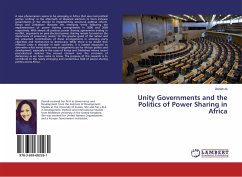 Unity Governments and the Politics of Power Sharing in Africa