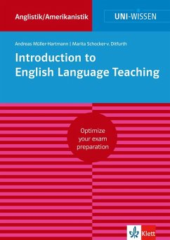 Uni-Wissen Introduction to English Language Teaching (eBook, ePUB) - Müller-Hartmann, Andreas; Schocker-Von Ditfurth, Marita