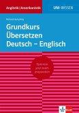 Uni-Wissen Grundkurs Übersetzen Deutsch - Englisch (eBook, ePUB)