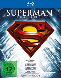Vorschaubild von Die Superman Spielfilm Collection Bluray Box