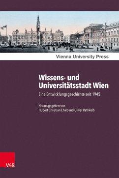 Wissens- und Universitätsstadt Wien (eBook, PDF)
