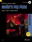 Modern Pop Piano, m. MP3-CD