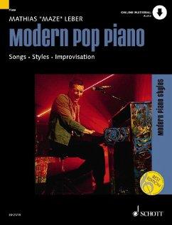 """Modern Pop Piano, m. MP3-CD - Leber, Mathias """"Maze"""""""