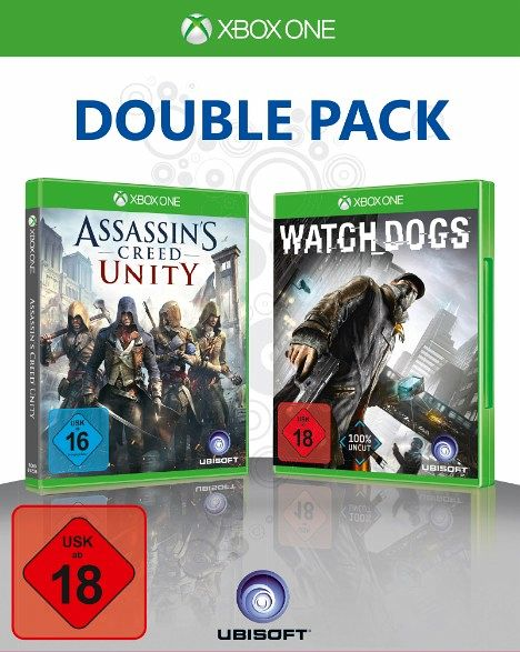 2 in 1 Pack: Watch Dogs / Assassin's Creed: Unity (Xbox One)