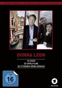 Donna Leon Collection, Folge 1-20 DVD-Box