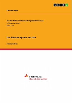 Das föderale System der USA (eBook, PDF)