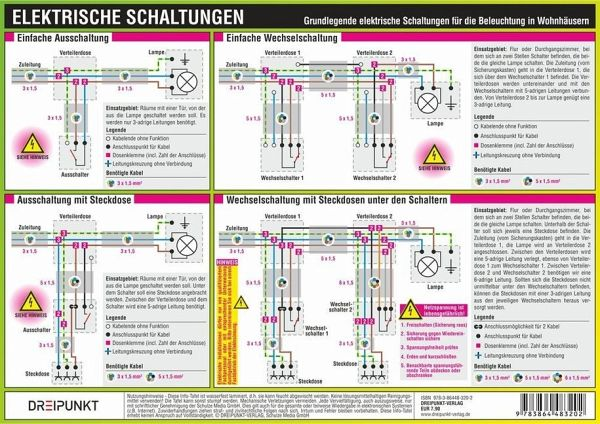 Elektrische Schaltungen, Infotafel von Michael Schulze - Fachbuch ...