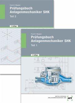 Prüfungsbuch Anlagenmechaniker SHK, 2 Bde. - Pusch, Peter; Wagner, Josef