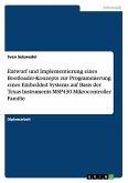 Entwurf und Implementierung eines Bootloader-Konzepts zur Programmierung eines Embedded Systems auf Basis der Texas Instruments MSP430 Mikrocontroller Familie