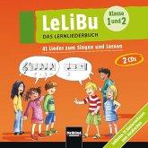 41 Lieder zum Singen und Lernen, 2 Audio-CDs / LeLiBu - Das Lernliederbuch