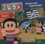 Julius Jr., Piraten und Superhelden, Audio-CD