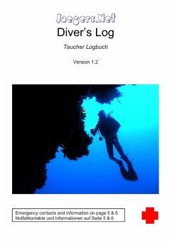 Jaegers.Net Diver´s Log - Taucher Logbuch