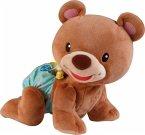 VTech Baby 80-181104 - Krabbel mit mir - Bär, Motorikspielzeug