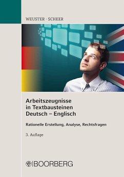 Arbeitszeugnisse in Textbausteinen Deutsch-Engl...