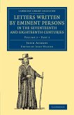 Letters Written by Eminent Persons in the Seventeenth and Eighteenth Centuries - Volume 2