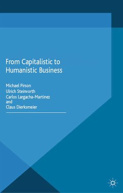 From Capitalistic to Humanistic Business (eBook, PDF)