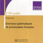 Exercices systématiques de prononciation française, 2 Audio-CDs