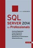 SQL Server 2014 für Professionals (eBook, PDF)