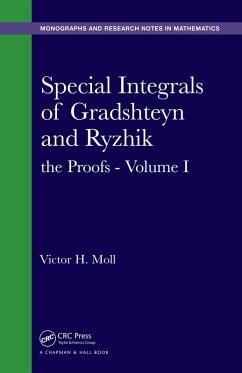 Special Integrals of Gradshteyn and Ryzhik (eBook, PDF) - Moll, Victor H.