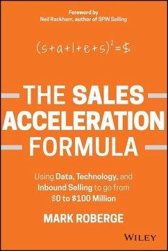 The Sales Acceleration Formula (eBook, PDF) - Roberge, Mark