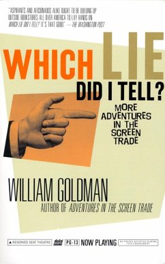 Which Lie Did I Tell? (eBook, ePUB) - Goldman, William