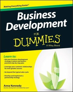 Business Development For Dummies (eBook, PDF)
