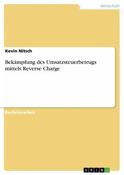 Bekämpfung des Umsatzsteuerbetrugs mittels Reverse Charge (eBook, ePUB)