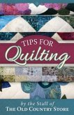 Tips for Quilting (eBook, ePUB)