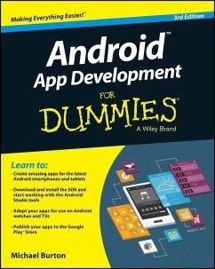 Android App Development For Dummies (eBook, PDF) - Burton, Michael