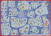 mindmemo Lernposter - Russisch für Einsteiger - Vokabeln lernen mit Bildern