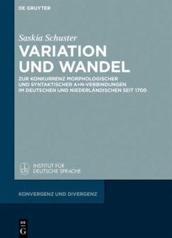 Variation und Wandel - Schuster, Saskia