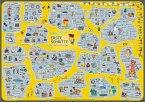 mindmemo Lernposter - Erste Schritte - Deutsch für Einsteiger - Vokabeln lernen mit Bildern