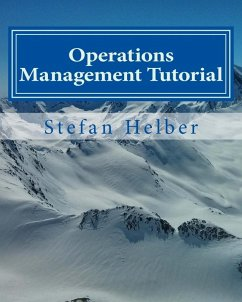 Operations Management Tutorial (eBook, PDF)
