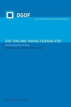 Die Online-Inhaltsanalyse (eBook, PDF)