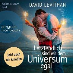 Letztendlich sind wir dem Universum egal / Letztendlich Bd.1 (MP3-Download) - Levithan, David