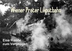 Wiener Prater - Liliputbahn (Wandkalender immerwährend DIN A3 quer)