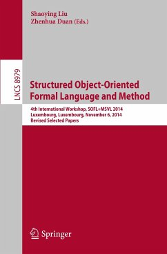 Structured Object-Oriented Formal Language and Method