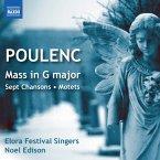 Messe In G/Sept Chansons/Motetten