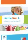mathe live. Arbeitsheft mit Lösungsheft und Lernsoftware 6. Schuljahr. Ausgabe N