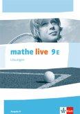 mathe live. Lösungen 9. Schuljahr. Ausgabe N