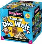 Carletto 2094901 - Brain Box Rund um die Welt, Lernspiel, Denkspiel, Gedächtnisspiel, Konzentrationsspiel