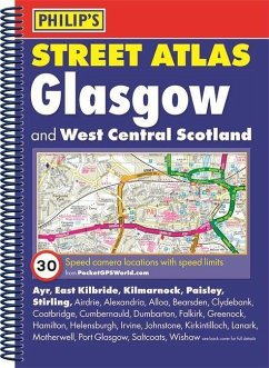 Philip's Street Atlas Glasgow and West Central Scotland
