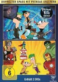 Phineas and Ferb - Der Film: Quer durch die 2. Dimension / Mission Marvel (2 Discs)