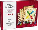 Spielesammlung mit großen Spielsteinen (Kartenspiel)