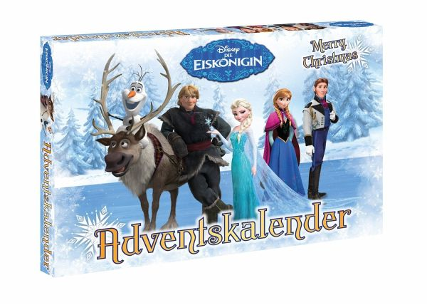 craze adventskalender frozen die eisk nigin 2016. Black Bedroom Furniture Sets. Home Design Ideas