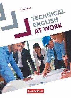 Technical English at Work A2-B1 Schülerbuch - Courtney, Brad; Williams, Steve