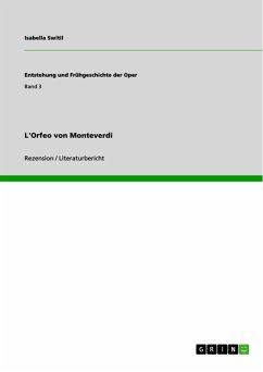 L'Orfeo von Monteverdi (eBook, ePUB) - Switil, Isabella