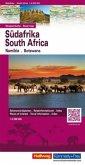 Hallwag Straßenkarte Südafrika; South Africa