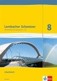Lambacher Schweizer. 8. Schuljahr G9. Arbeitsheft plus Lösungsheft. Neubearbeitung. Hessen