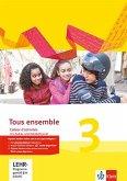 Tous ensemble 3. Cahier d'activités mit MP3-CD und Vokabeltrainer 3. Lernjahr